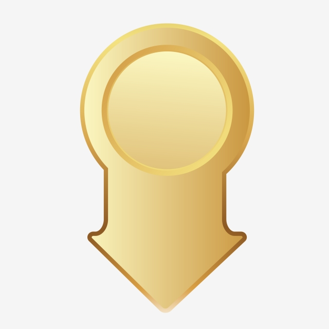 Location Gold Icon Vector, Location, Clipart, Landmark PNG and ... clip library download