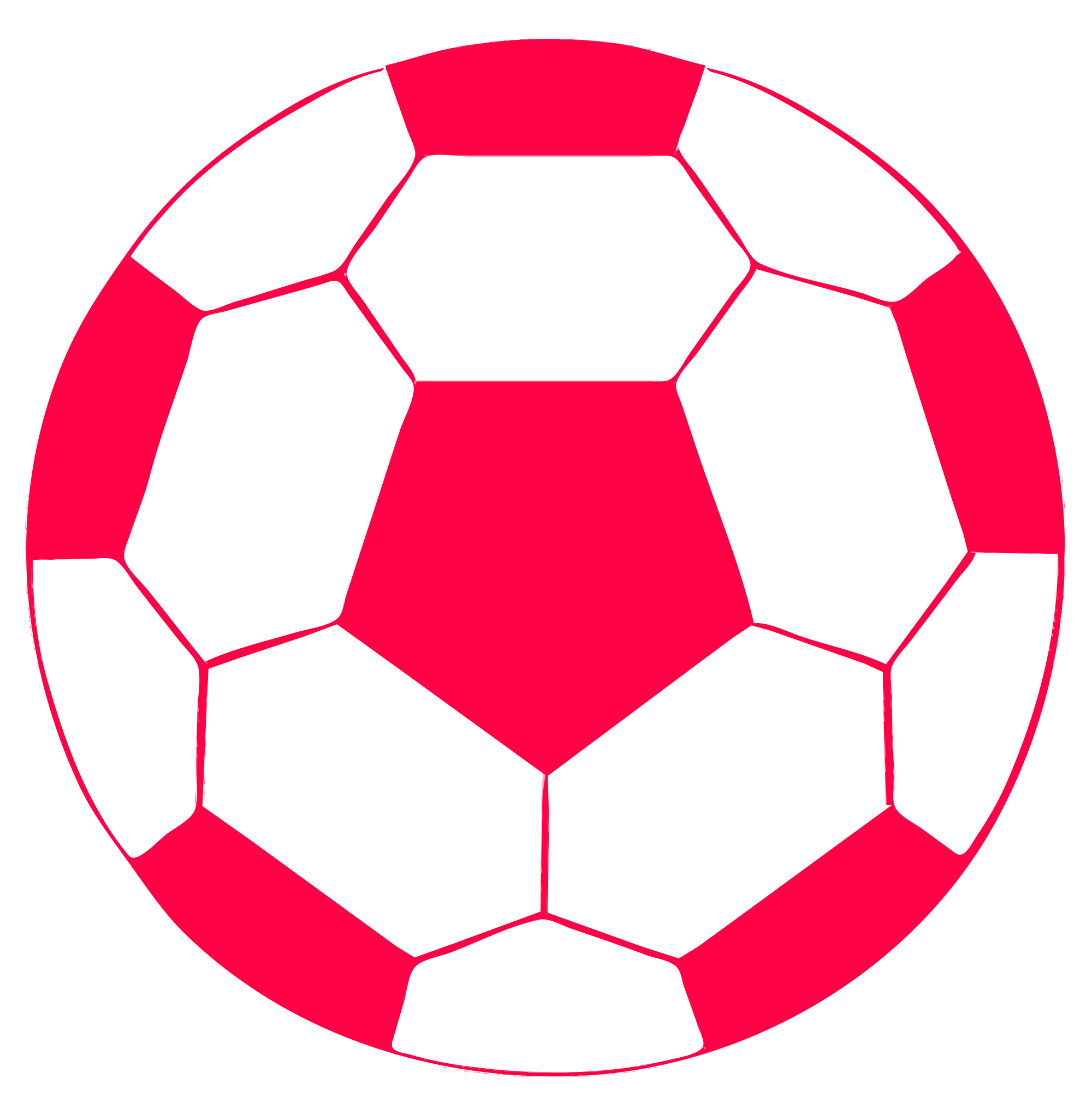 Adidas ball clipart banner transparent library Red Soccer Ball | Free download best Red Soccer Ball on ClipArtMag.com banner transparent library