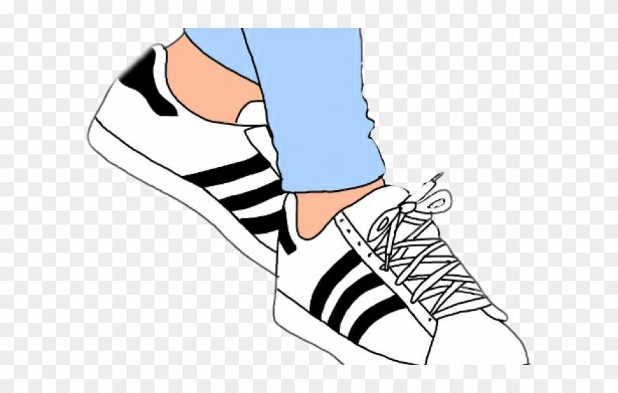 Adidas clipart graphic library Original - Adidas Superstar Clipart - Clipart Png Download (#211900 ... graphic library