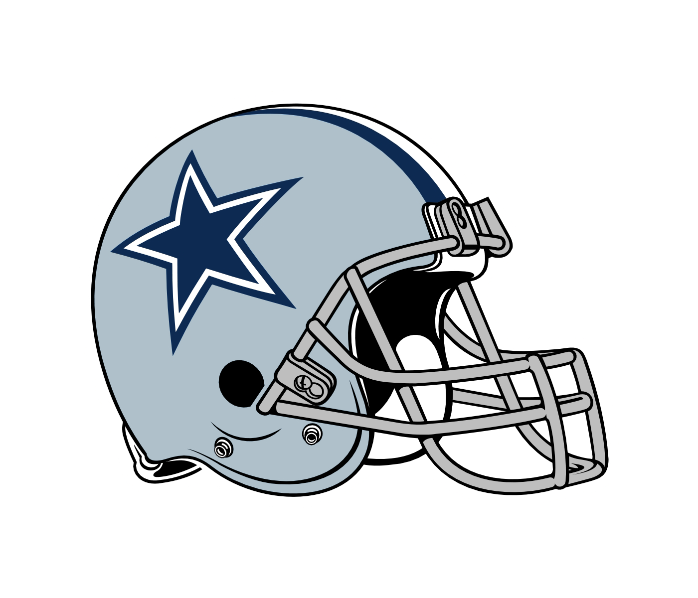 Football xo clipart image transparent stock Dallas Cowboys Helmet Clipart at GetDrawings.com | Free for personal ... image transparent stock