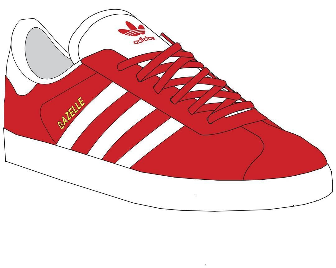 Adidas gazelle clipart clipart transparent Pin by Mc Craft on Adidas | Adidas sneakers, Shoes vector, Adidas clipart transparent