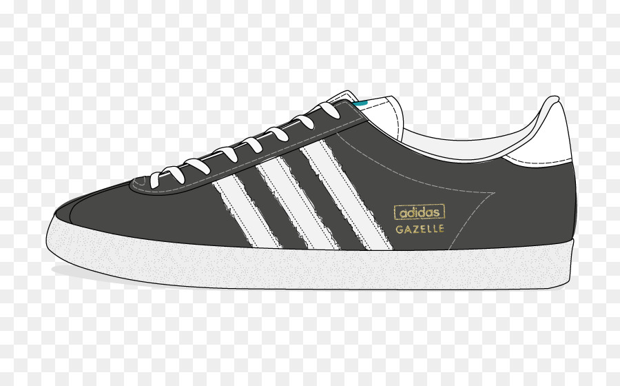 Adidas gazelle clipart png library download Running Cartoon png download - 817*549 - Free Transparent Adidas png ... png library download