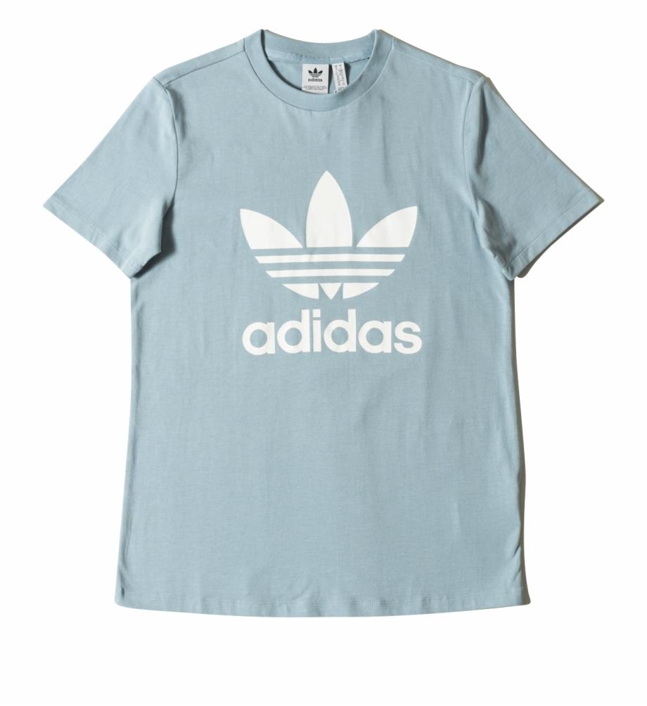 Adidas shirt clipart clip art black and white download Trefoil Tee Cv9891 - Casaco Da Adidas Masculino Free PNG Images ... clip art black and white download