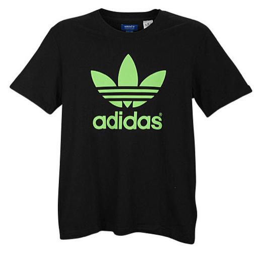 Adidas shirt clipart image transparent stock Adidas Originals Mirror Trefoil Logo T-Shirt For Men ... image transparent stock