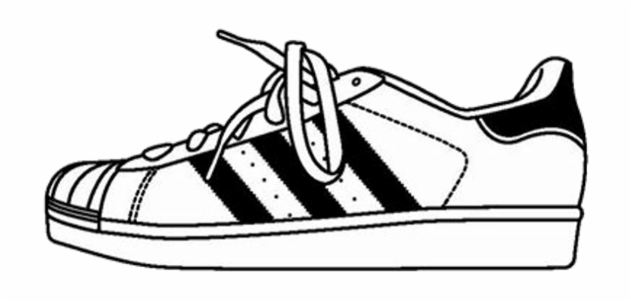 Adidas superstar black white clipart png transparent library Adidas Shoes Clipart Adidas Sneaker - Stickers Shoes, Transparent ... png transparent library