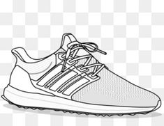 Adidas sneakers clipart png black and white download 27 Best Adidas PNG & Adidas Transparent Clipart images in 2018 ... png black and white download