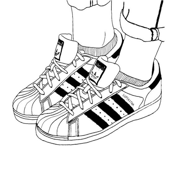 Adidas superstar black white clipart clip transparent Collection of Adidas clipart | Free download best Adidas clipart on ... clip transparent