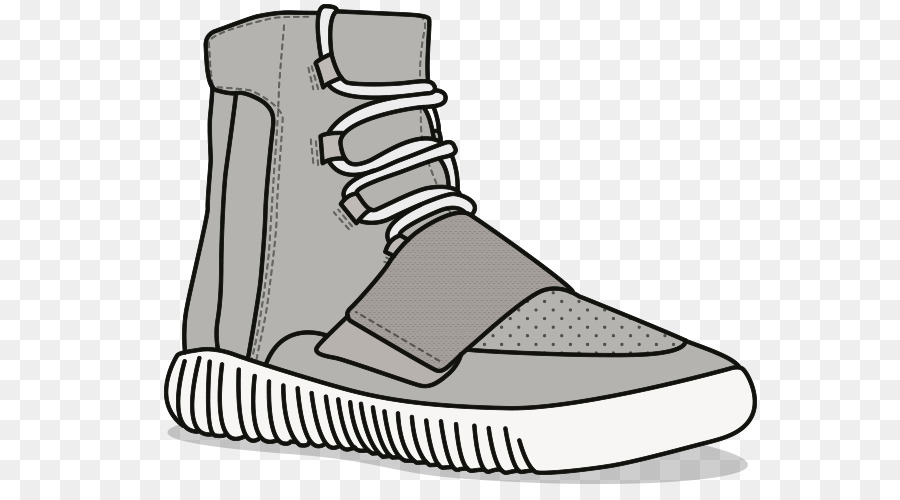 Adidas yeezy clipart svg library Black Line Background png download - 677*491 - Free Transparent ... svg library