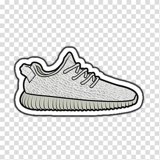 Adidas yeezy clipart png royalty free download Adidas Yeezy Sneakers Drawing T-shirt, adidas transparent background ... png royalty free download