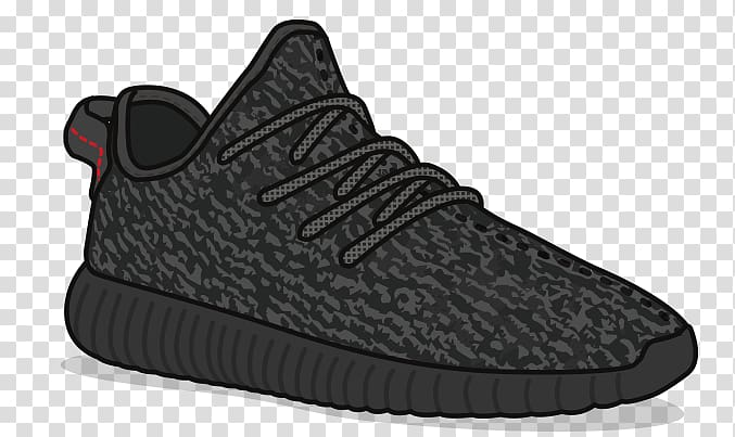 Adidas yeezy clipart png free download Adidas Yeezy Sneakers Drawing Shoe Sticker, yeezy transparent ... png free download
