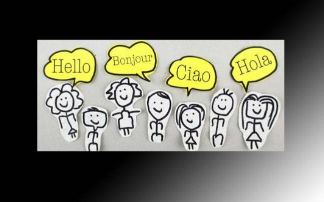 Bonjour? Hola? Ciao? Know how to greet people in different languages ... clipart