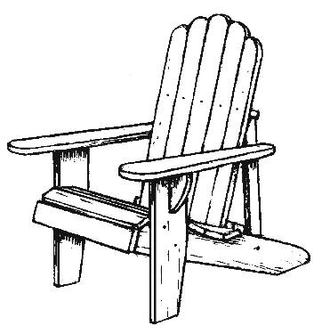 Adirondack chairs clipart clip art library stock 77+ Adirondack Chair Clip Art | ClipartLook clip art library stock