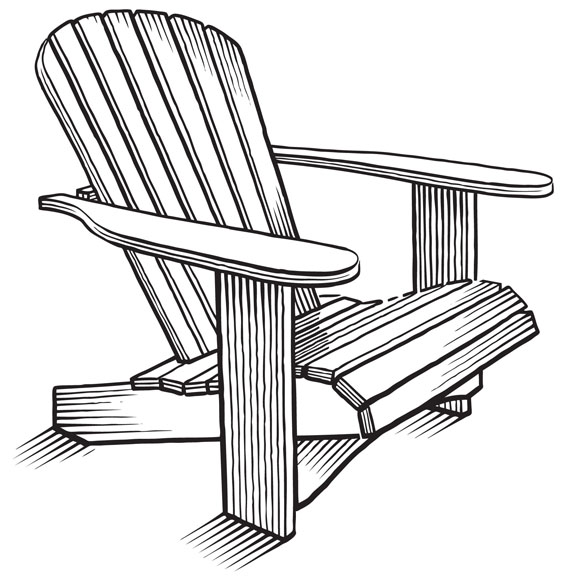 Adirondack chairs clipart clipart library download Drawing, Chair, Design, Furniture, Line, Product, Font png clipart ... clipart library download
