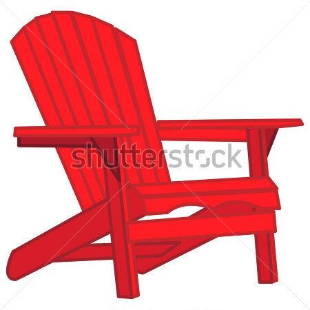 Adirondack chairs clipart free jpg library library 14 Adirondack Chair Vector Images Adirondack Chair Clip Orange ... jpg library library