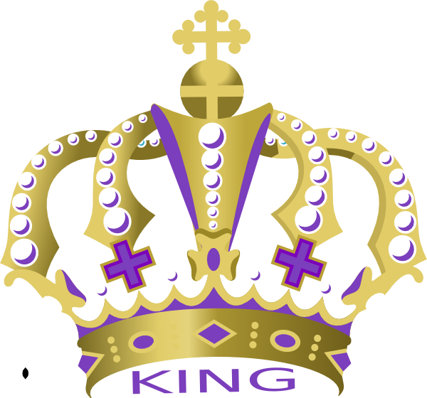 Gold purple crown clipart picture black and white library Kings Crown Pics (23+) Desktop Backgrounds picture black and white library