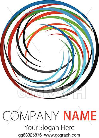 Adjust logo clipart svg Vector Illustration - Company logo design circle arc. EPS Clipart ... svg