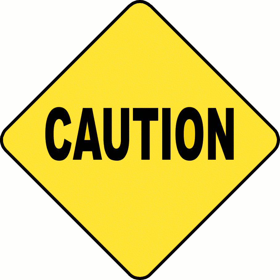 Caution sign download clip. Free cliparts signs