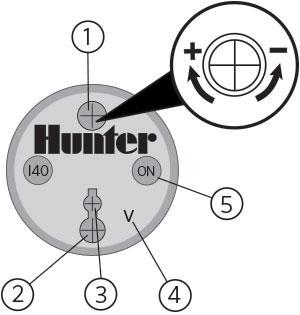Adjusting sprinkler heads clipart image freeuse download Commercial Rotors - I-40 Rotor Adjustment Instructions   Hunter ... image freeuse download