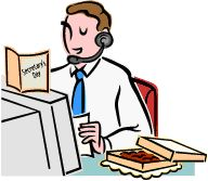 Admin clerk clipart jpg library Clipart clerk - ClipartFest jpg library