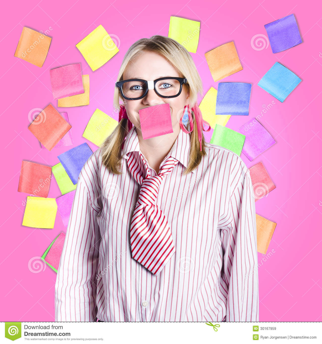 Admin clerk clipart banner freeuse library Female Admin Clerk Swamped With Multitasking Jobs Royalty Free ... banner freeuse library