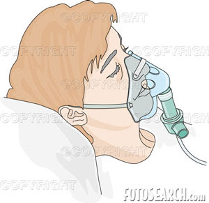 Administer oxygen clipart vector black and white library Nursing.com: Oxygen Delivery Devices vector black and white library