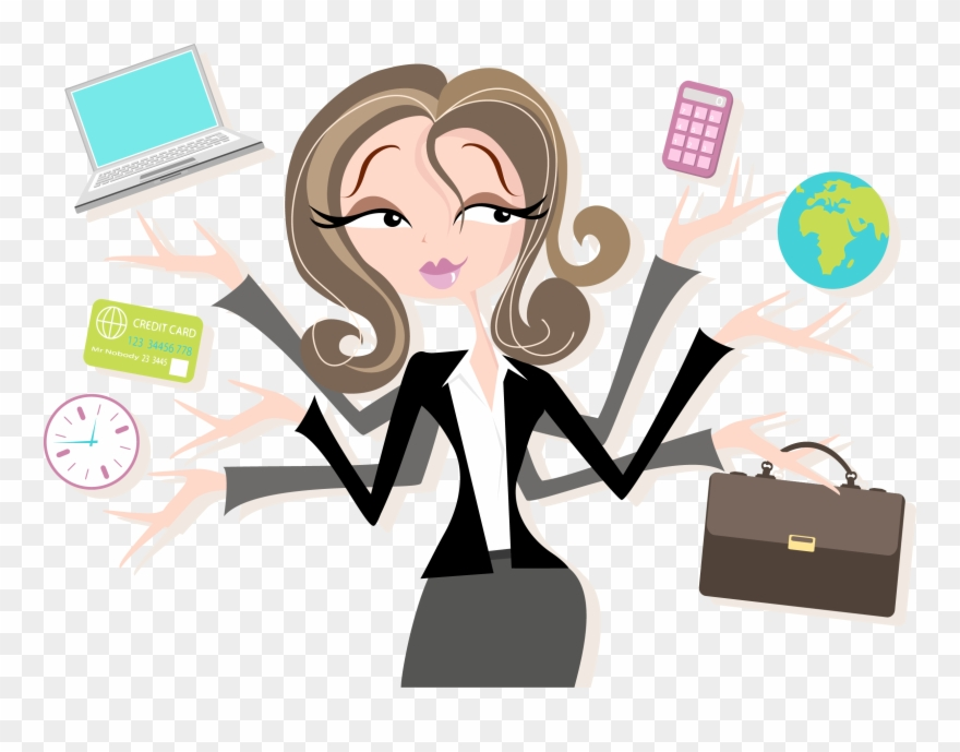Worker Vector Millennial - Administrative Assistant Clipart (#23499 ... graphic royalty free download