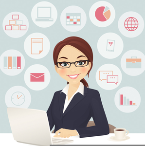 Clipart Administrative Assistant Day | Free Images at Clker.com ... banner freeuse