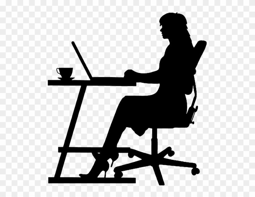 Administrative professional clipart clipart transparent Administrative Professionals Week - Business Woman Silhouette ... clipart transparent