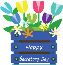 Administrator-s day clipart clip royalty free Secretarys Day Clipart - Clip Art Pictures - Graphics - Illustrations clip royalty free