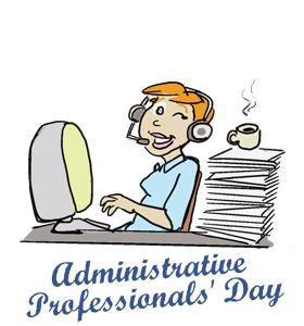 Happy administrative professionals day clipart graphic transparent stock Administrative professionals day clipart clipart images gallery for ... graphic transparent stock