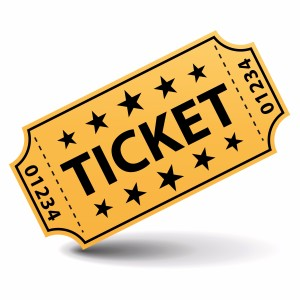 Admission tickets 20 clipart