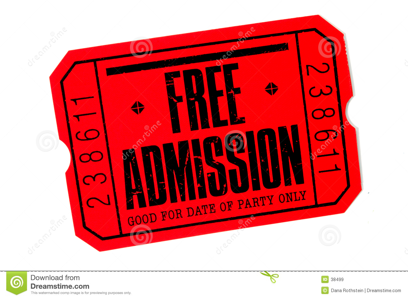Entrance ticket clipart vector free Admit One Ticket Clipart | Free download best Admit One Ticket ... vector free