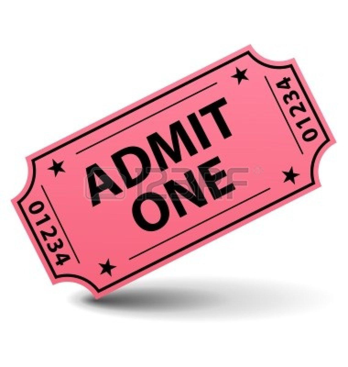Admit clipart imges jpg Admit one ticket clipart – Gclipart.com jpg