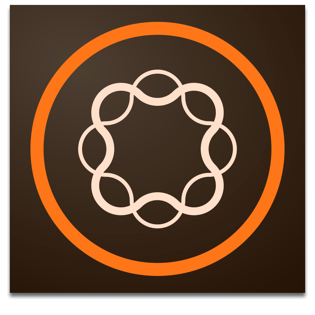 Adobe Experience Manager Orange and White on Brown Icon Logo   Tech ... graphic library download