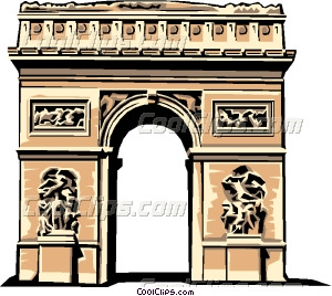Adobe arhway clipart hi res png royalty free stock Arc de Triomphe Vector Clip art png royalty free stock