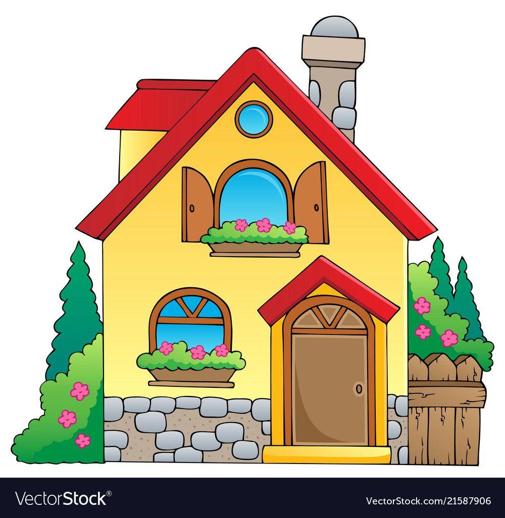 Adobe casa clipart clip freeuse stock Pin by Massimo Porri on primavera   Cartoon house, House clipart, House clip freeuse stock