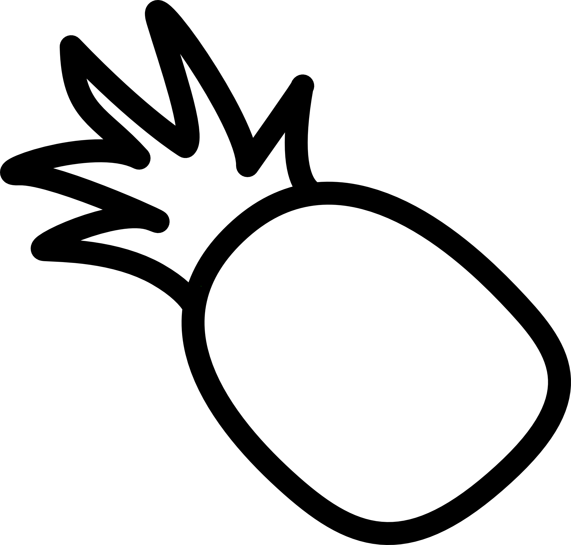 Adobe clipart gallery svg royalty free Adobe Illustrator Clip Art | Tattoo | Pineapple tattoo, Pineapple ... svg royalty free
