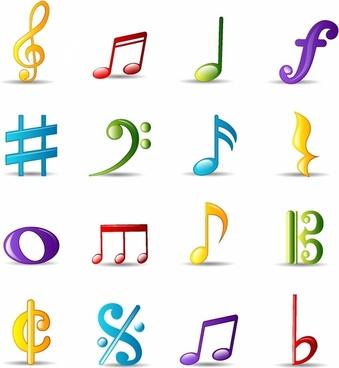 Adobe clipart images music notes clip Treble clef music note Free vector in Adobe Illustrator ai ( .ai ... clip