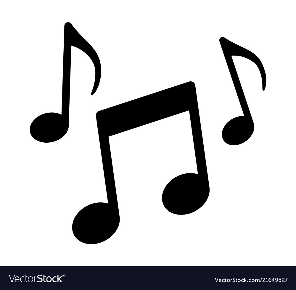 Song notes clipart image freeuse Music notes song melody or tune icon image freeuse