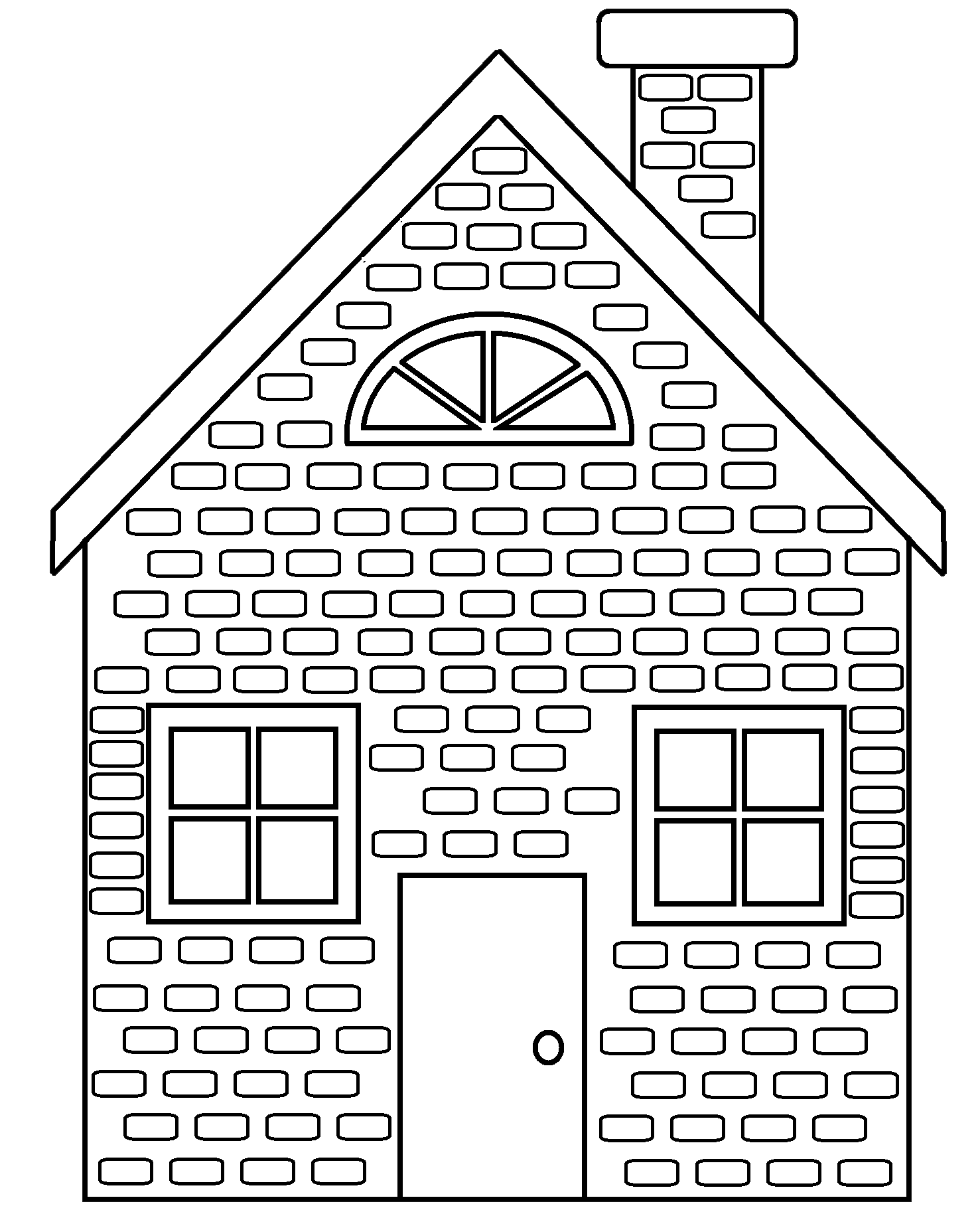 Adobe house clipart black and white free library 83+ Brick House Clipart Black And White Brick House Clipart Black ... free library