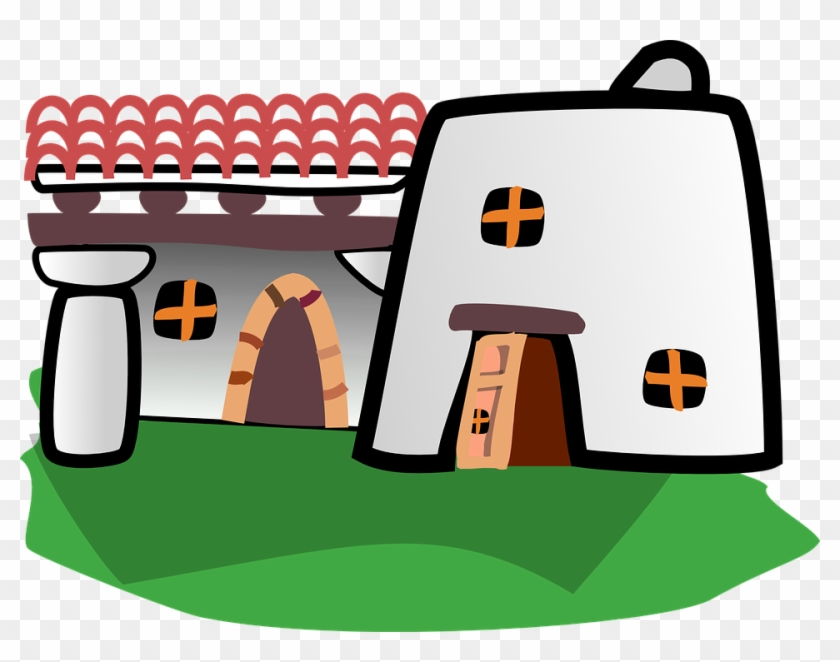 Adobe houses clipart clipart royalty free download Adobe House Cliparts - Making-The-Web.com clipart royalty free download