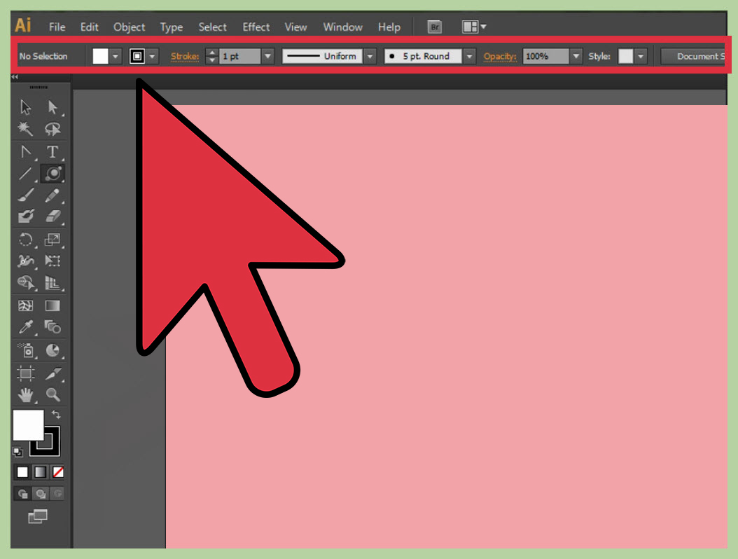 How to Change a Background in Adobe Illustrator: 6 Steps png free stock