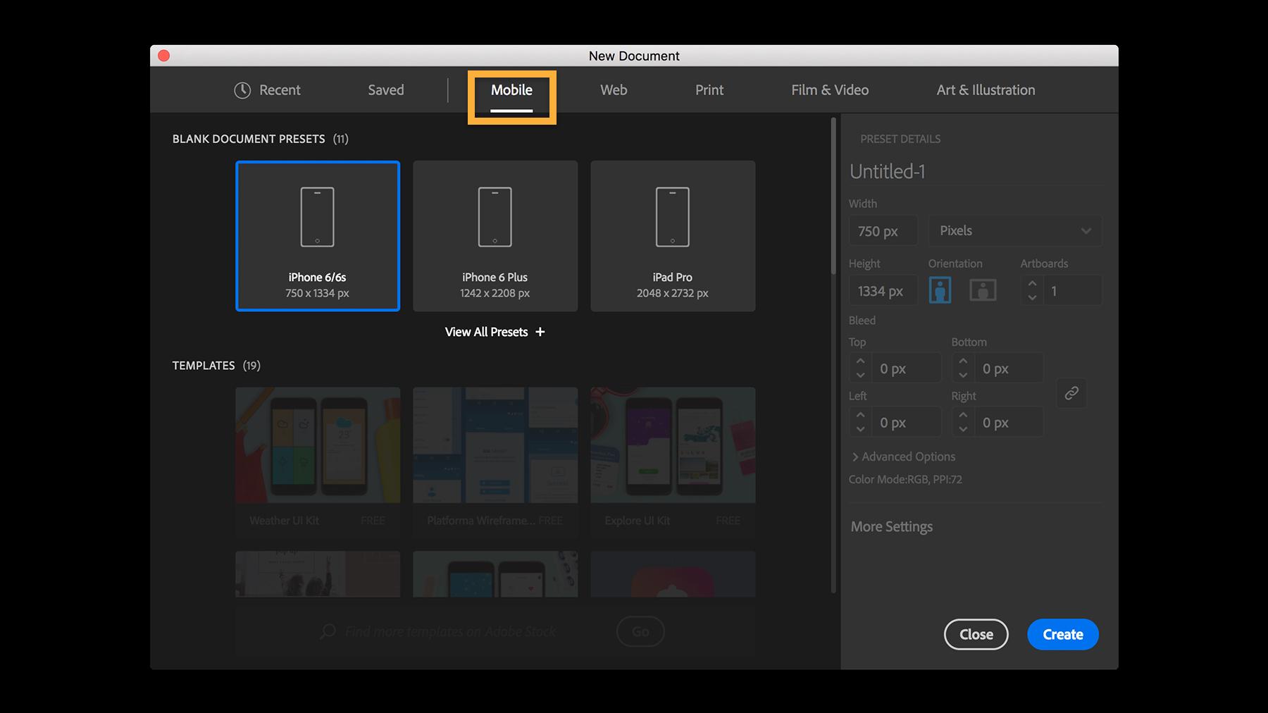 How to create a new document in Illustrator | Adobe Illustrator ... jpg black and white