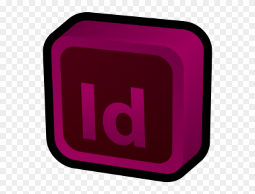 Adobe indesign clipart vector library library Adobe Indesign Icon 3d Clipart (#851118) - PinClipart vector library library