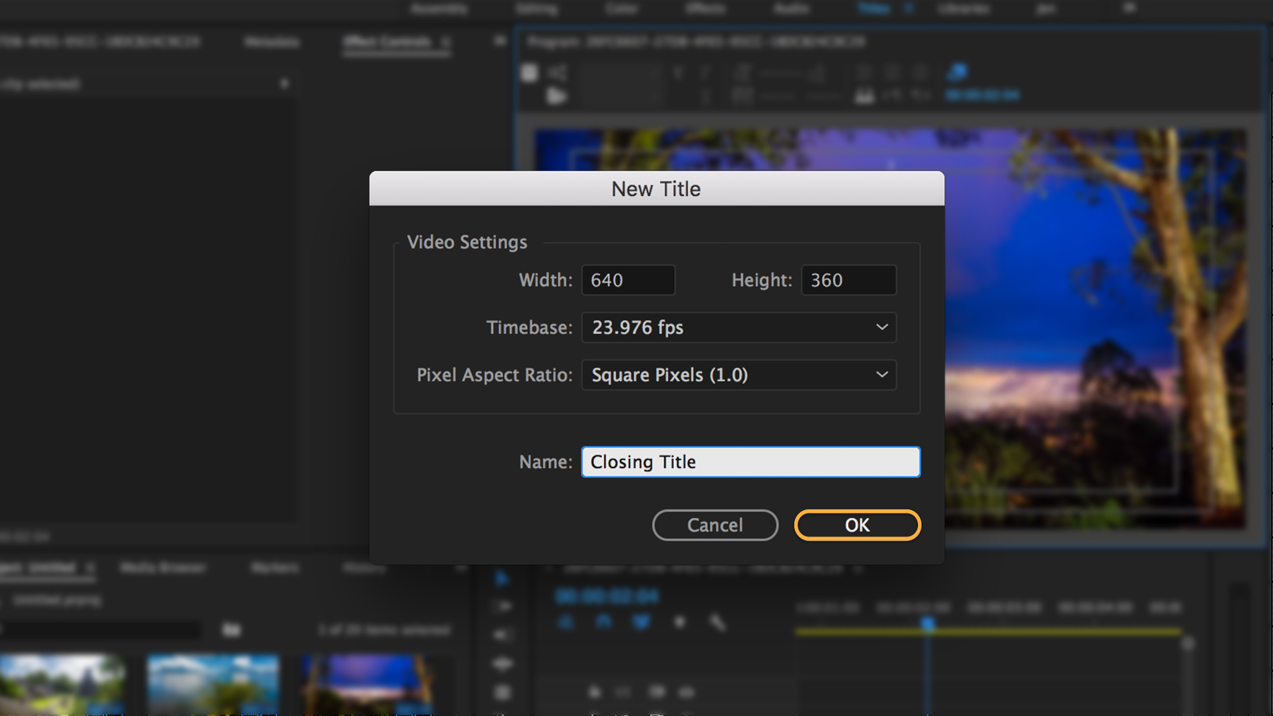 Adobe premiere pro logo clipart graphic transparent stock How to add titles and graphics to your video | Adobe Premiere Pro ... graphic transparent stock