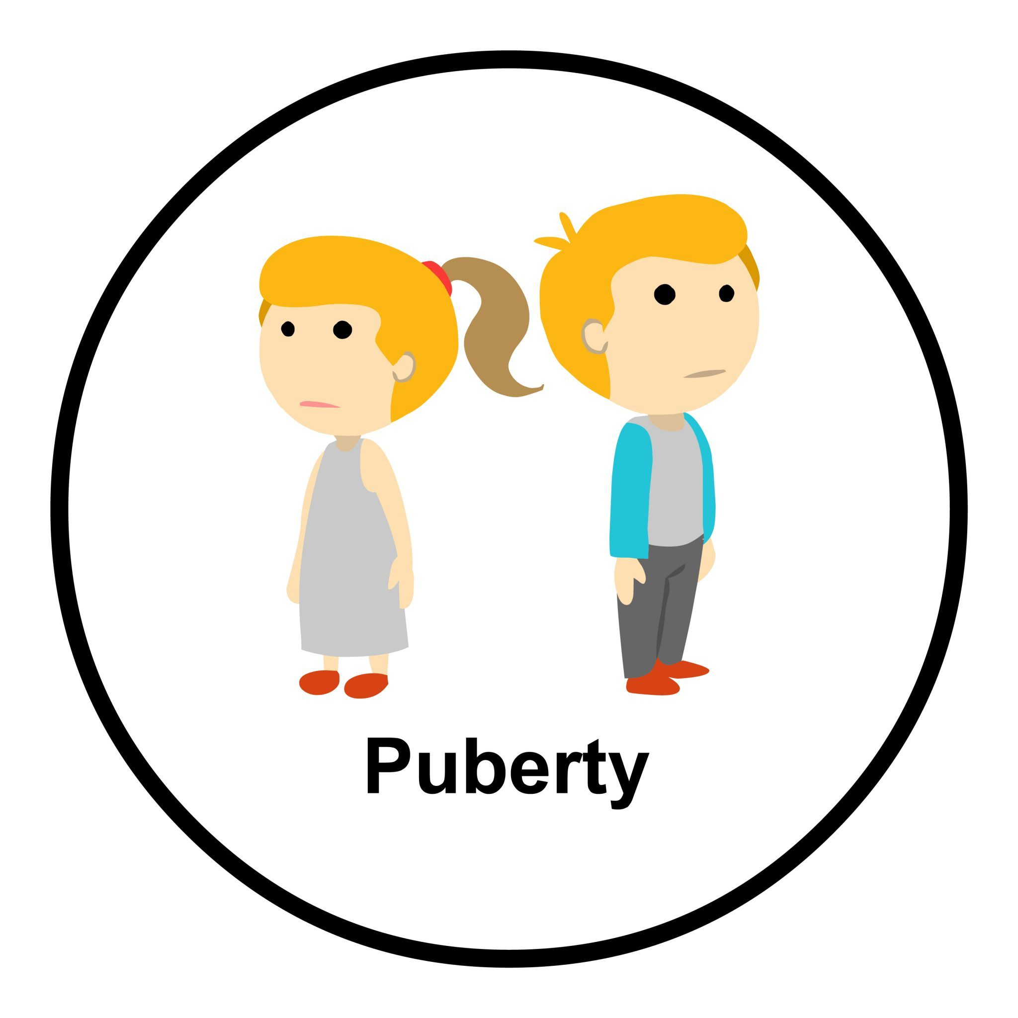 Puberty - Look Hear Australia, Allied Health and Educational Resources svg free