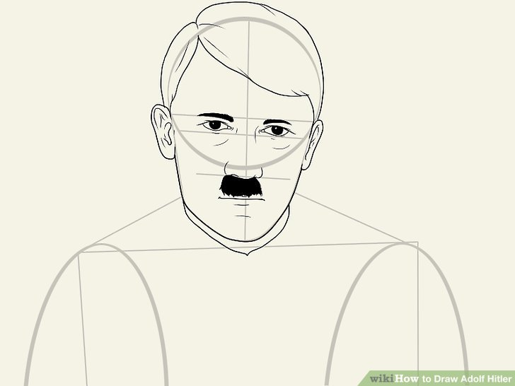 How to Draw Adolf Hitler (with Pictures) - wikiHow vector library
