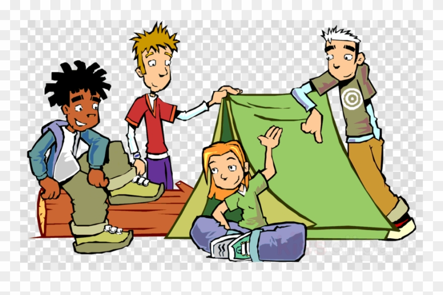Adoloscence clipart clipart freeuse stock Boys Camping Cartoon Clipart Camping Cartoon Clip Art - Adolescence ... clipart freeuse stock