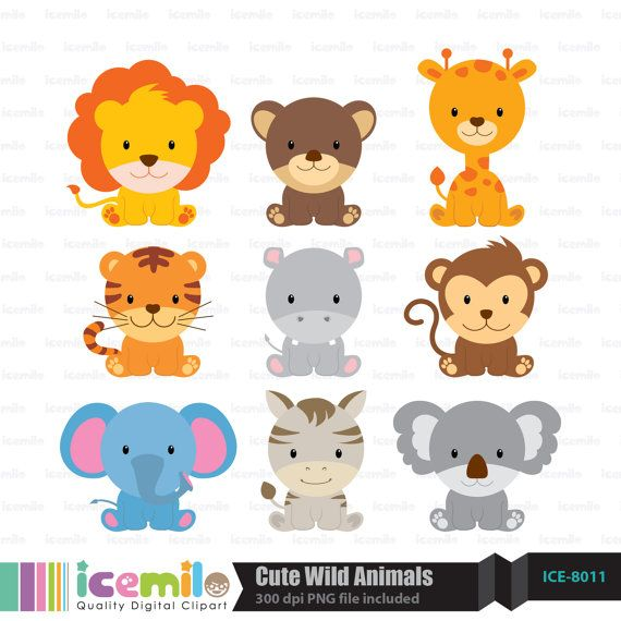 Adorable animal clipart image royalty free stock Cute animal clipart » Clipart Station image royalty free stock
