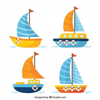 Adorable boat clipart vector black and white Sailing Vectors, Photos and PSD files | Free Download vector black and white